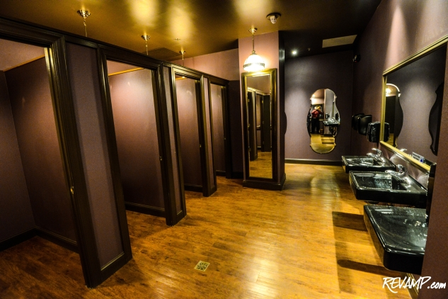 The huxley opens its kimono service amenities the for Nightclub bathroom design